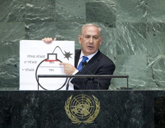 Benjamin Netanjahu vor der UNO-Vollversammlung